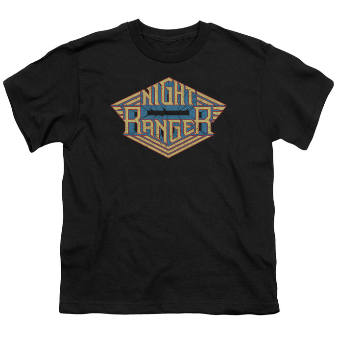 Night Ranger - Logo Short Sleeve Youth 18/1 Tee - Special Holiday Gift