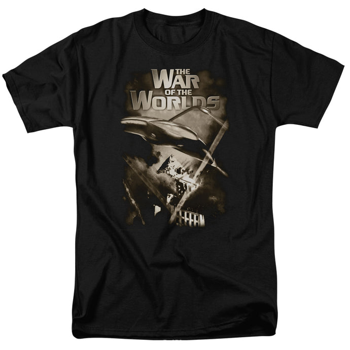 War Of The Worlds - Death Rays Short Sleeve Adult 18/1 Tee - Special Holiday Gift