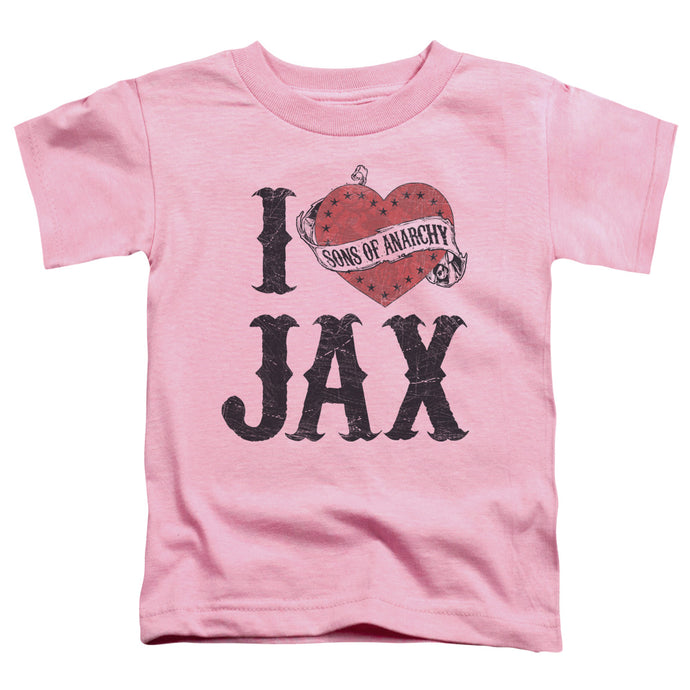 Sons Of Anarchy - I Heart Jax Short Sleeve Toddler Tee - Special Holiday Gift