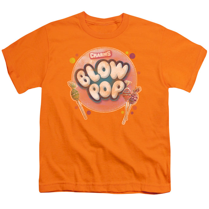 Tootsie Roll - Blow Pop Bubble Short Sleeve Youth 18/1 Tee - Special Holiday Gift