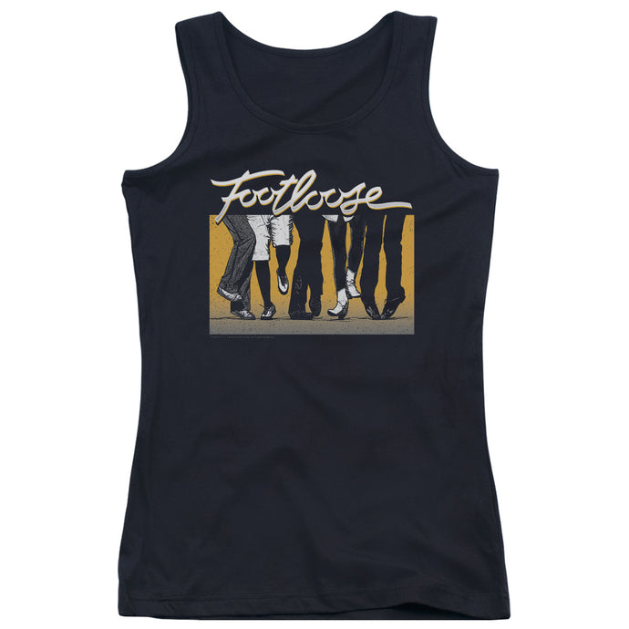 Footloose - Dance Party Juniors Tank Top - Special Holiday Gift