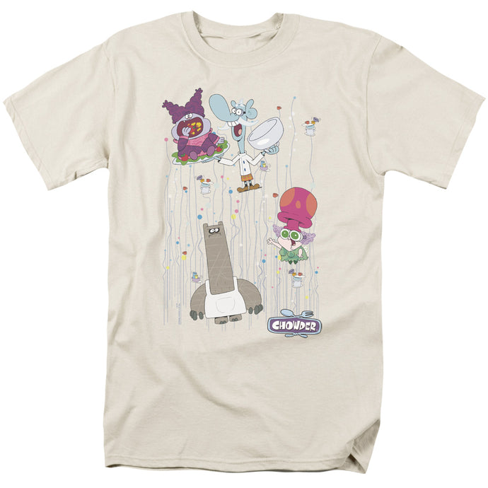 Chowder - Dots Collage Short Sleeve Adult 18/1 Tee - Special Holiday Gift