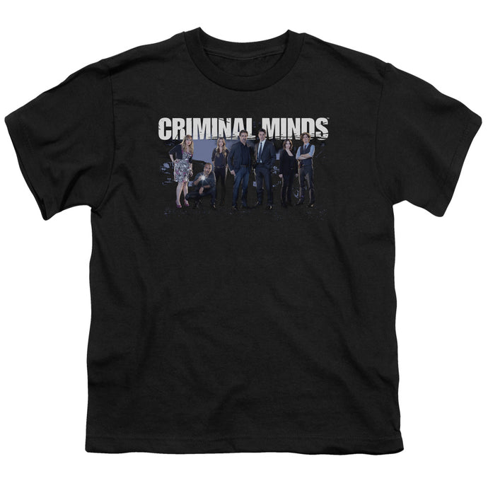 Criminal Minds - Season 10 Cast Short Sleeve Youth 18/1 Tee - Special Holiday Gift