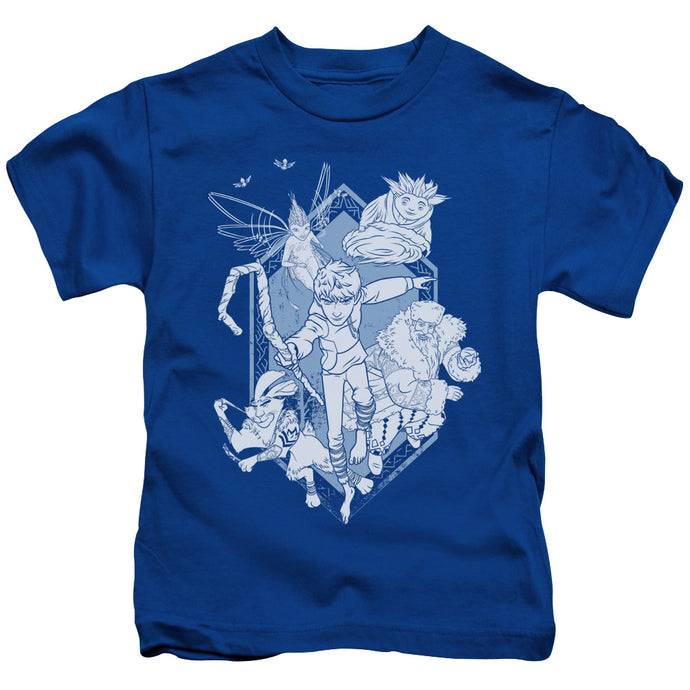 Rise Of The Guardians - Coming For You Short Sleeve Juvenile 18/1 Tee - Special Holiday Gift