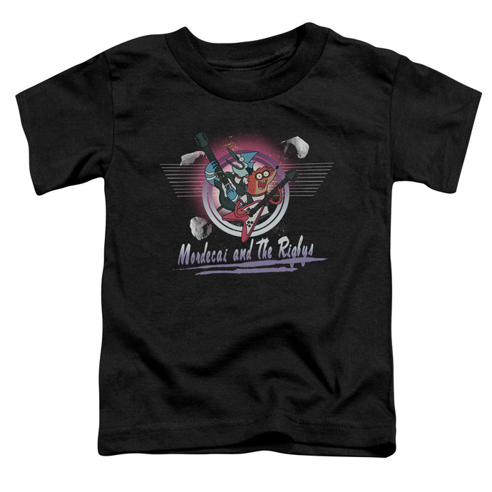The Regular Show - Mordecai & The Rigbys Short Sleeve Toddler Tee - Special Holiday Gift