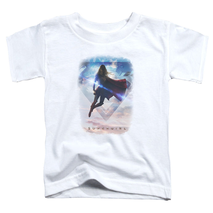 Supergirl - Endless Sky Short Sleeve Toddler Tee - Special Holiday Gift
