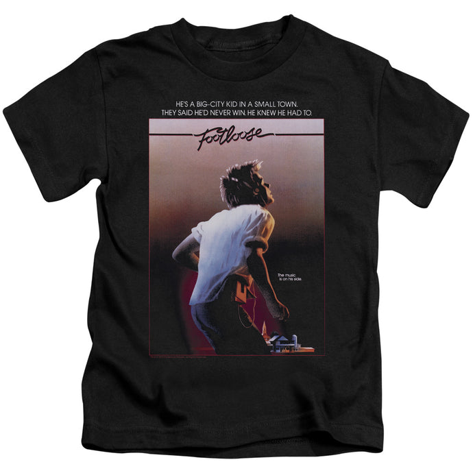 Footloose - Poster Short Sleeve Juvenile 18/1 Tee - Special Holiday Gift