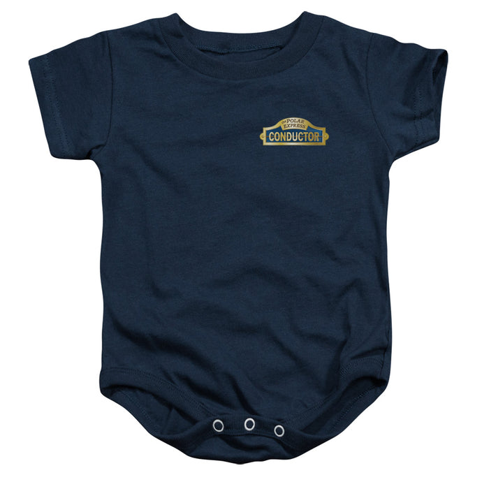 Polar Express - Conductor Infant Snapsuit - Special Holiday Gift