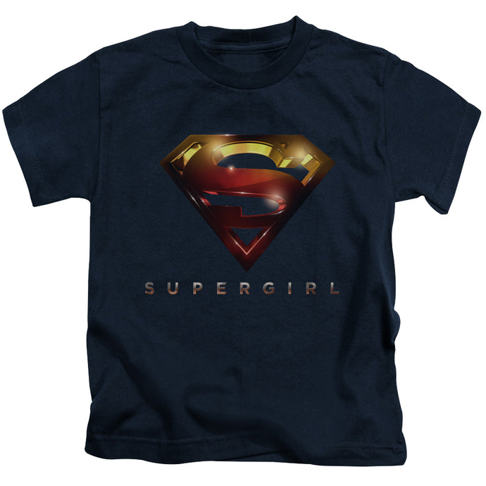 Supergirl - Logo Glare Short Sleeve Juvenile 18/1 Tee - Special Holiday Gift