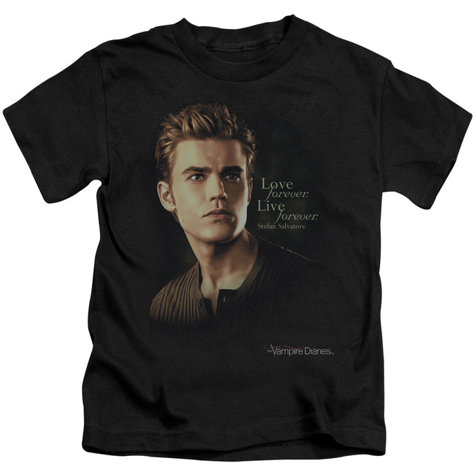 Vampire Diaries - Forever Short Sleeve Juvenile 18/1 Tee - Special Holiday Gift