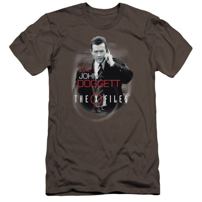 X Files - Doggett Premium Canvas Adult Slim Fit 30/1 - Special Holiday Gift