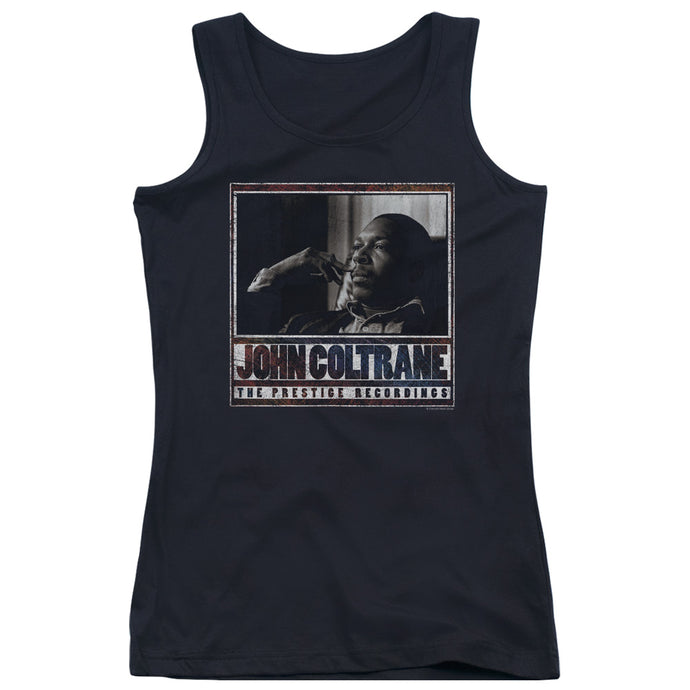John Coltrane - Prestige Recordings Juniors Tank Top - Special Holiday Gift