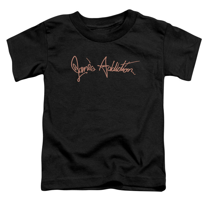 Janes Addiction - Script Logo Short Sleeve Toddler Tee - Special Holiday Gift