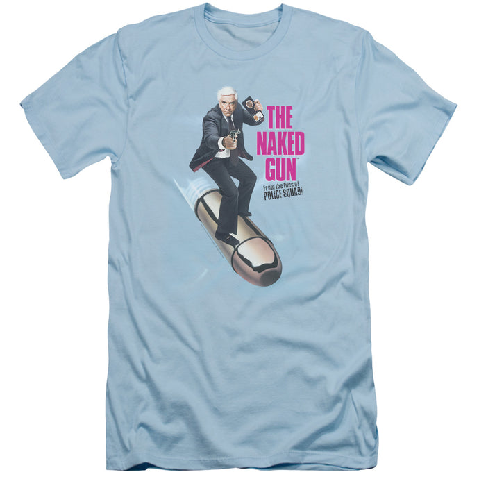 Naked Gun - Bullet Short Sleeve Adult 30/1 Tee - Special Holiday Gift