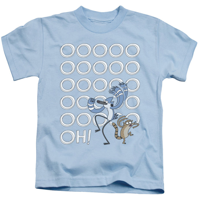 The Regular Show - Oooooh Short Sleeve Juvenile 18/1 Tee - Special Holiday Gift
