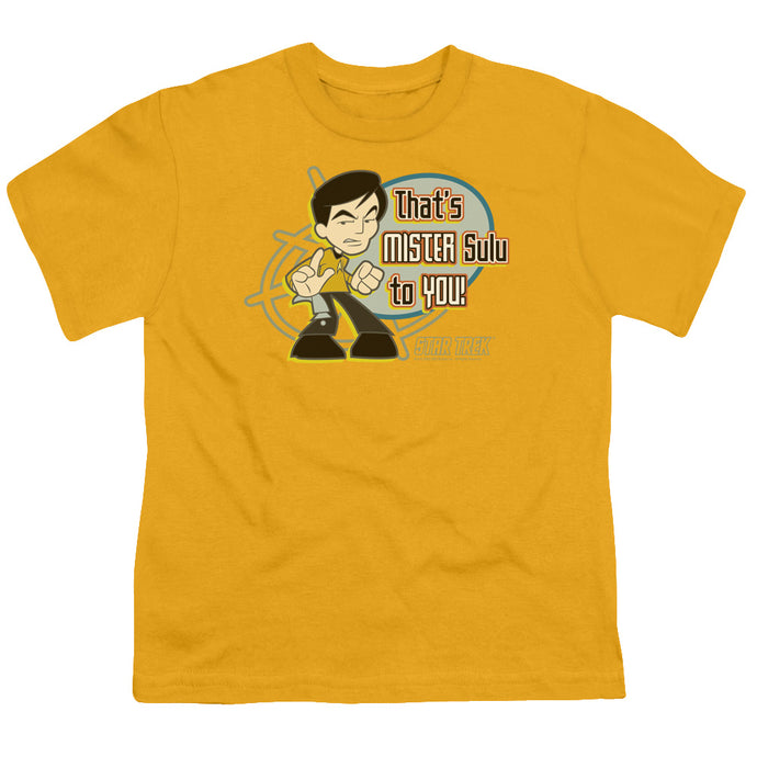 Quogs - Mr Sulu To You Short Sleeve Youth 18/1 Tee - Special Holiday Gift