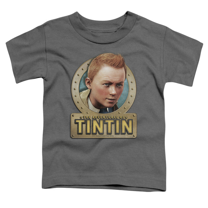 Tintin - Metal Short Sleeve Toddler Tee - Special Holiday Gift