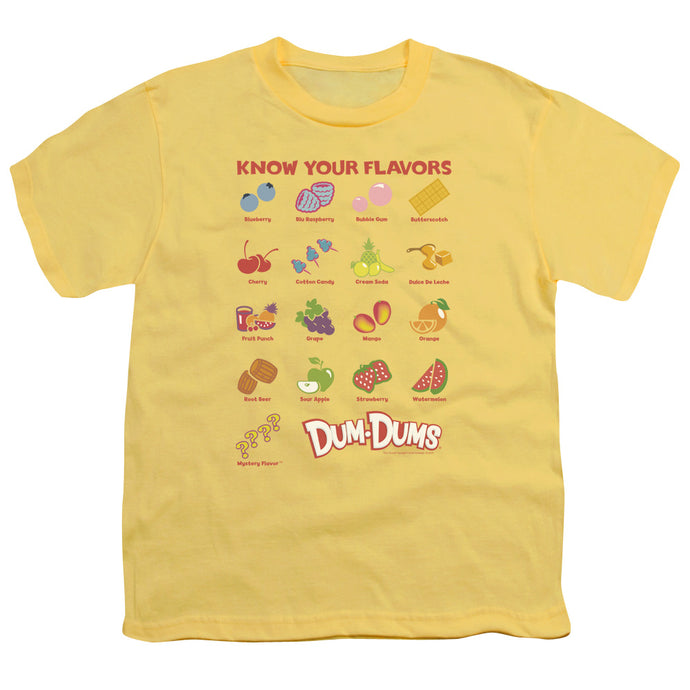 Dum Dums - Flavors Short Sleeve Youth 18/1 Tee - Special Holiday Gift