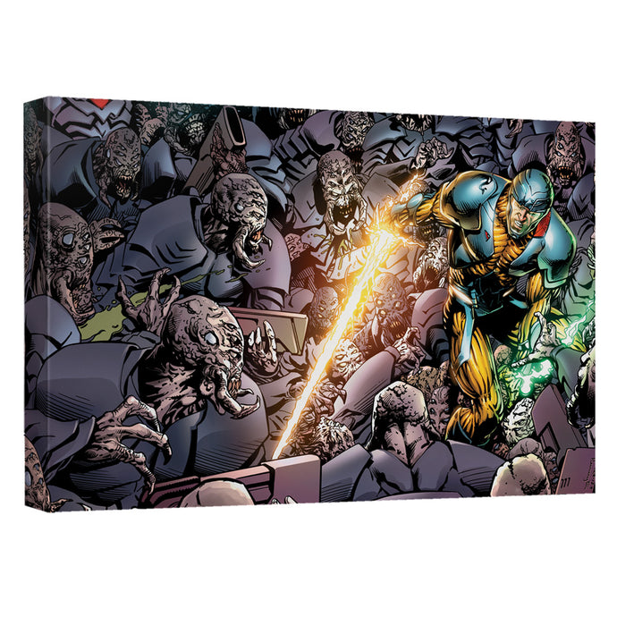 Xo Manowar - Legion Canvas Wall Art With Back Board - Special Holiday Gift