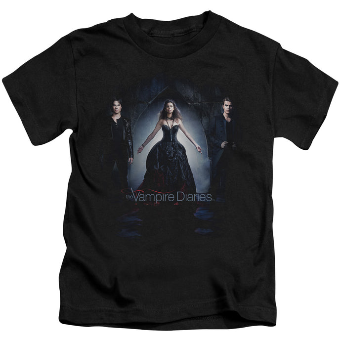 Vampire Diaries - Bring It On Short Sleeve Juvenile 18/1 Tee - Special Holiday Gift