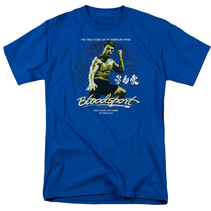Bloodsport - American Ninja Short Sleeve Adult 18/1 Tee - Special Holiday Gift