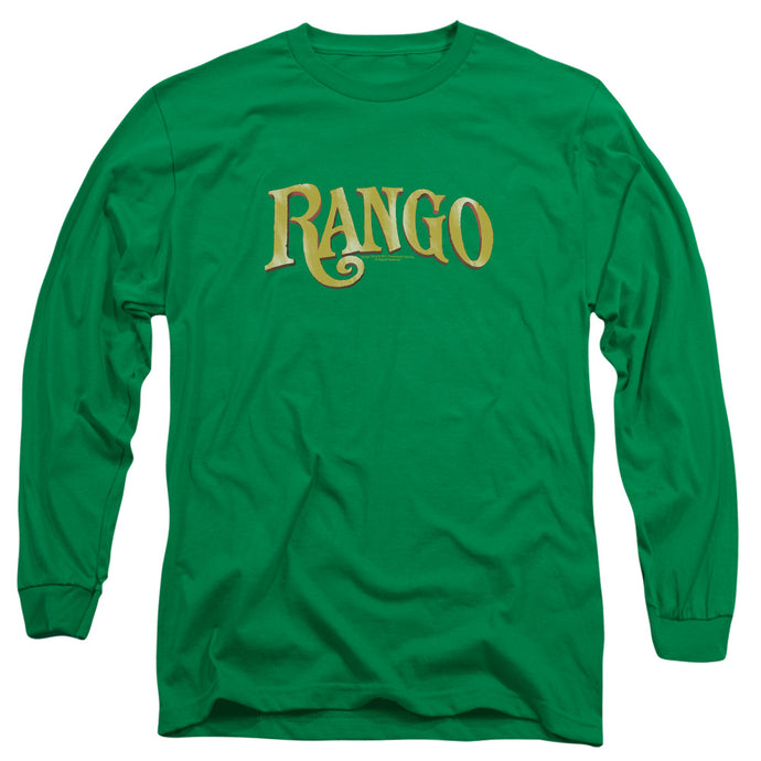 Rango - Logo Long Sleeve Adult 18/1 Tee - Special Holiday Gift