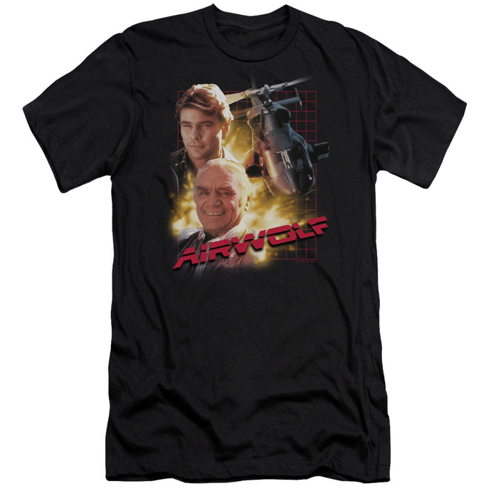 Airwolf - Airwolf Short Sleeve Adult 30/1 Tee - Special Holiday Gift