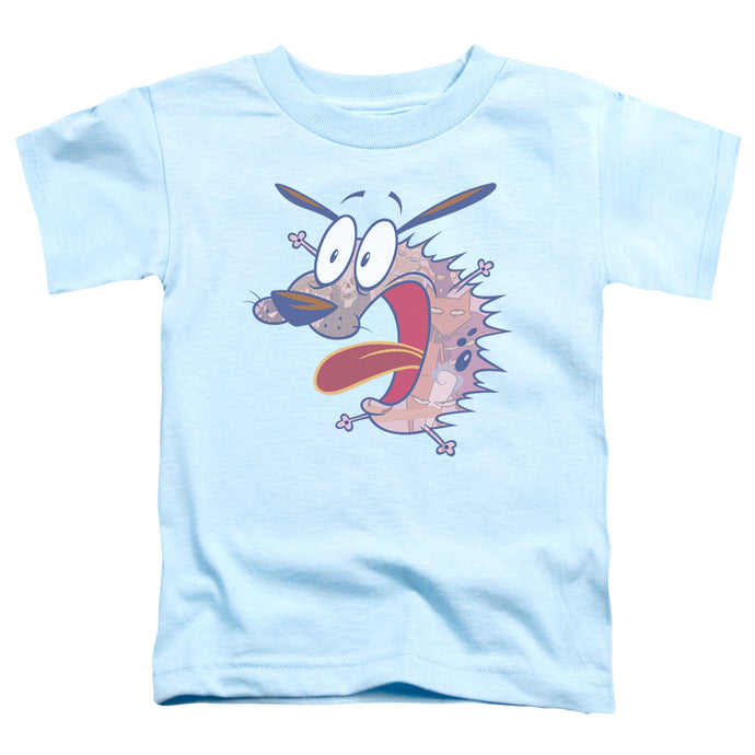 Courage The Cowardly Dog - Evil Inside Short Sleeve Toddler Tee - Special Holiday Gift