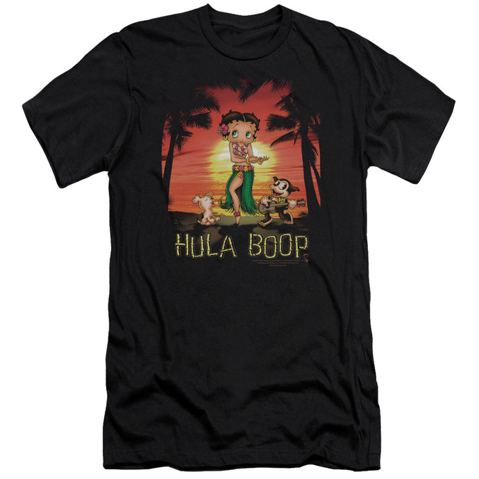 Betty Boop - Hulaboop Premium Canvas Adult Slim Fit 30/1 - Special Holiday Gift