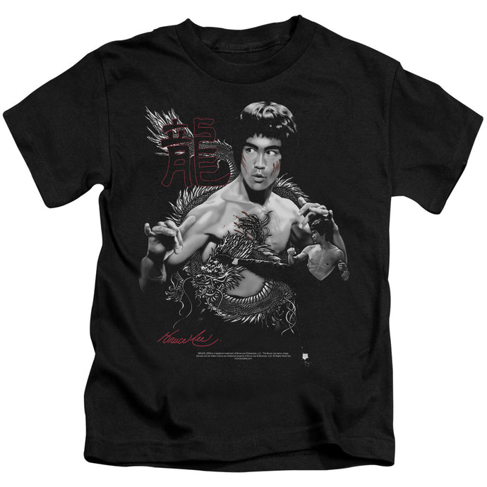 Bruce Lee - The Dragon Short Sleeve Juvenile 18/1 Tee - Special Holiday Gift