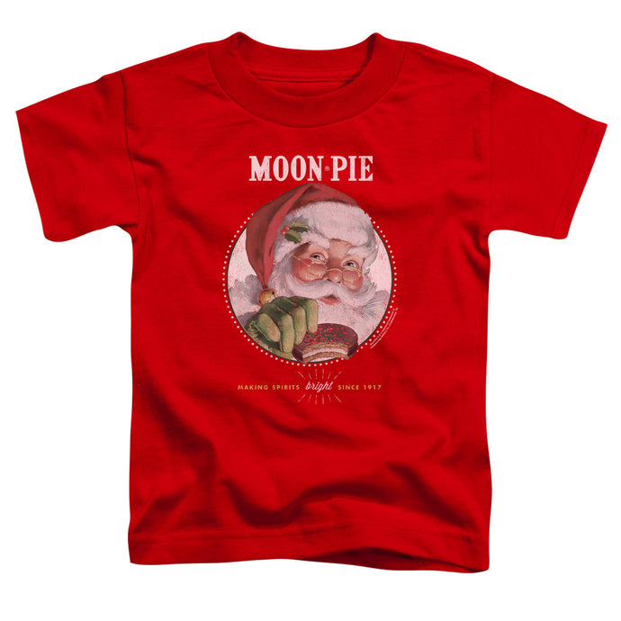 Moon Pie - Snacks For Santa Short Sleeve Toddler Tee - Special Holiday Gift