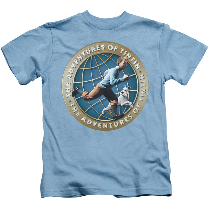 Tintin - Around The Globe Short Sleeve Juvenile 18/1 Tee - Special Holiday Gift