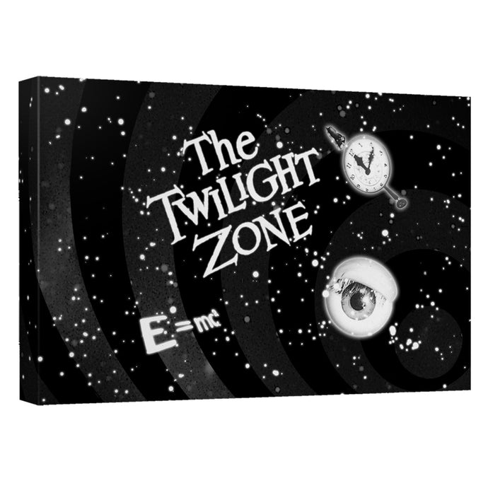 Twilight Zone - Another Dimension Canvas Wall Art With Back Board - Special Holiday Gift