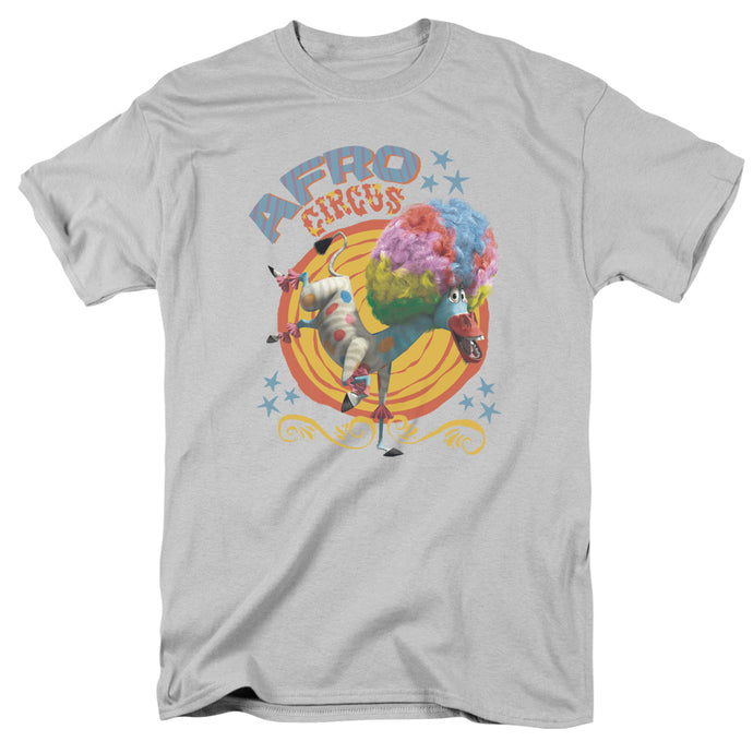 Madagascar - Afro Circus Short Sleeve Adult 18/1 Tee - Special Holiday Gift