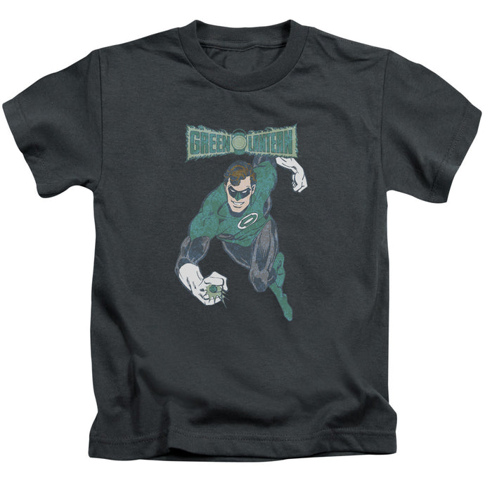 Dco - Desaturated Green Lantern Short Sleeve Juvenile 18/1 Tee - Special Holiday Gift