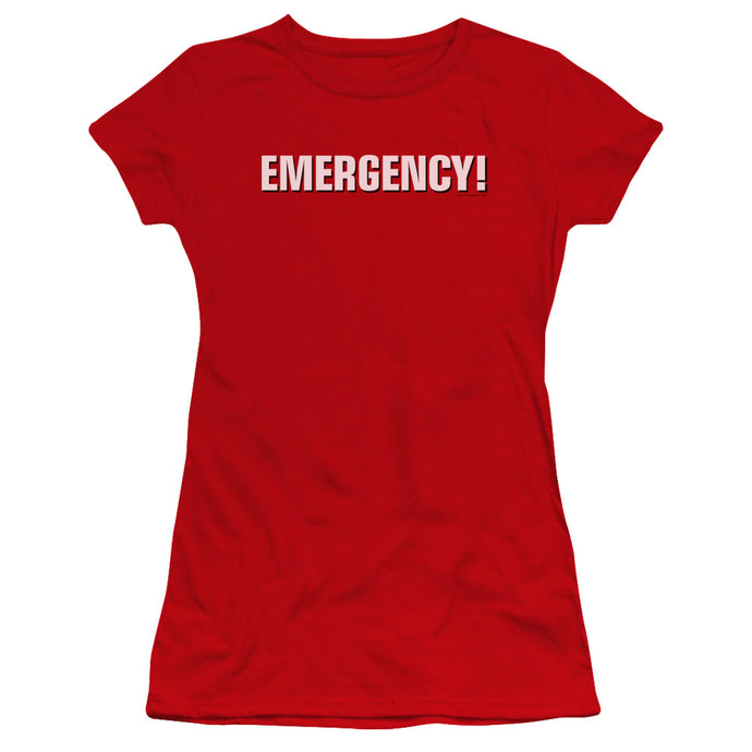 Emergency - Logo Premium Bella Junior Sheer Jersey - Special Holiday Gift