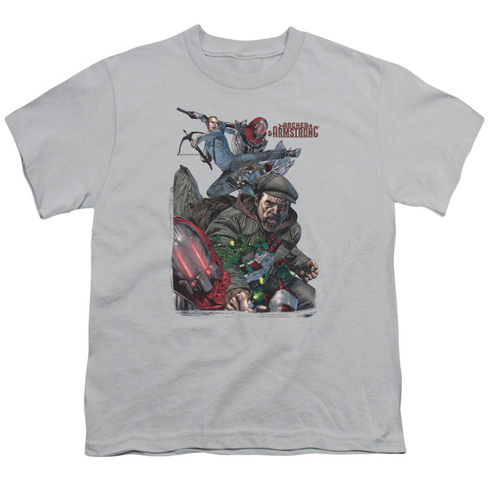 Archer & Armstrong - Bottle Smash Short Sleeve Youth 18/1 Tee - Special Holiday Gift