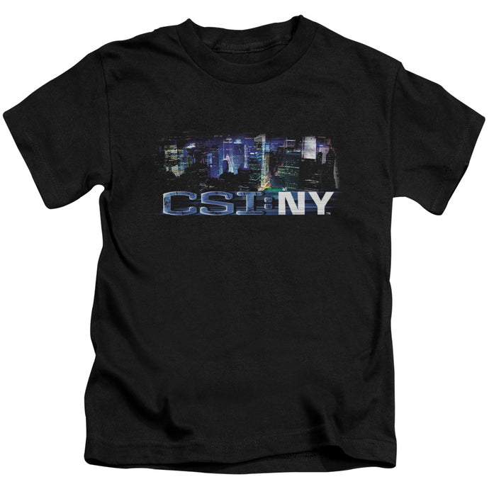 Csi Ny - Never Rests Short Sleeve Juvenile 18/1 Tee - Special Holiday Gift