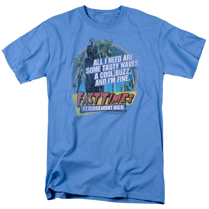 Fast Times Ridgemont High - Tasty Waves Short Sleeve Adult 18/1 Tee - Special Holiday Gift