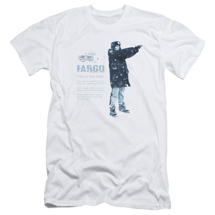 Fargo - This Is A True Story Short Sleeve Adult 30/1 Tee - Special Holiday Gift