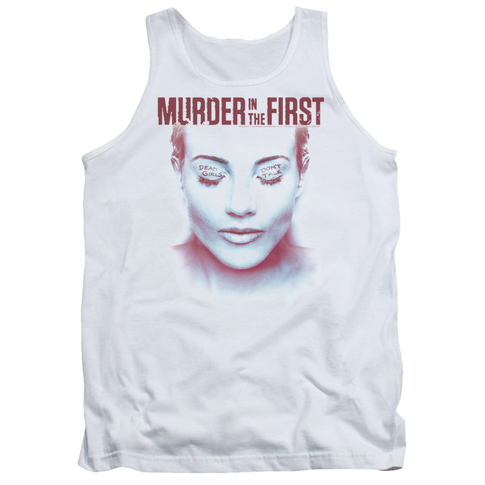 Murder In The First - Don't Talk Adult Tank - Special Holiday Gift