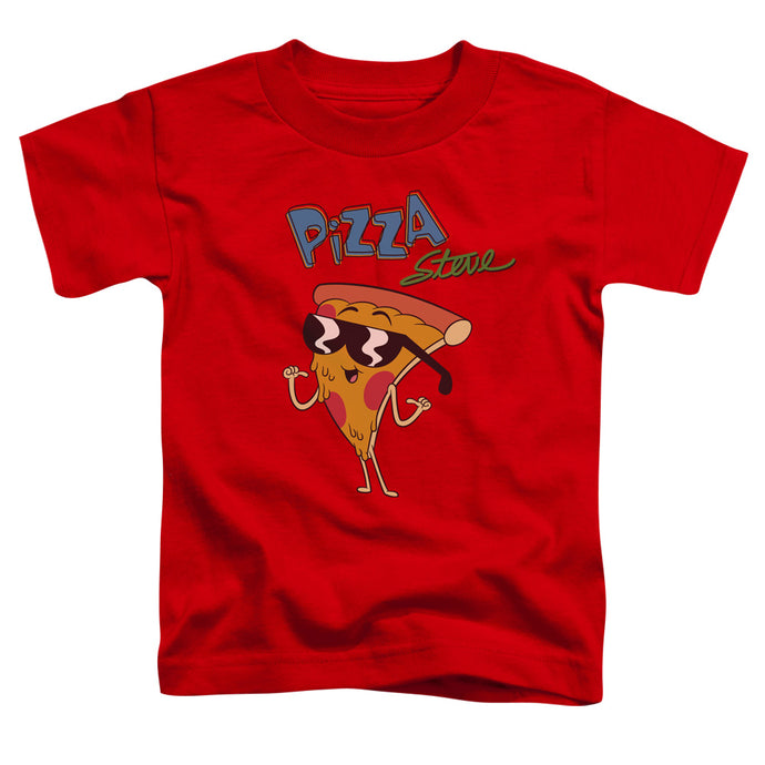 Uncle Grandpa - Pizza Steve Short Sleeve Toddler Tee - Special Holiday Gift