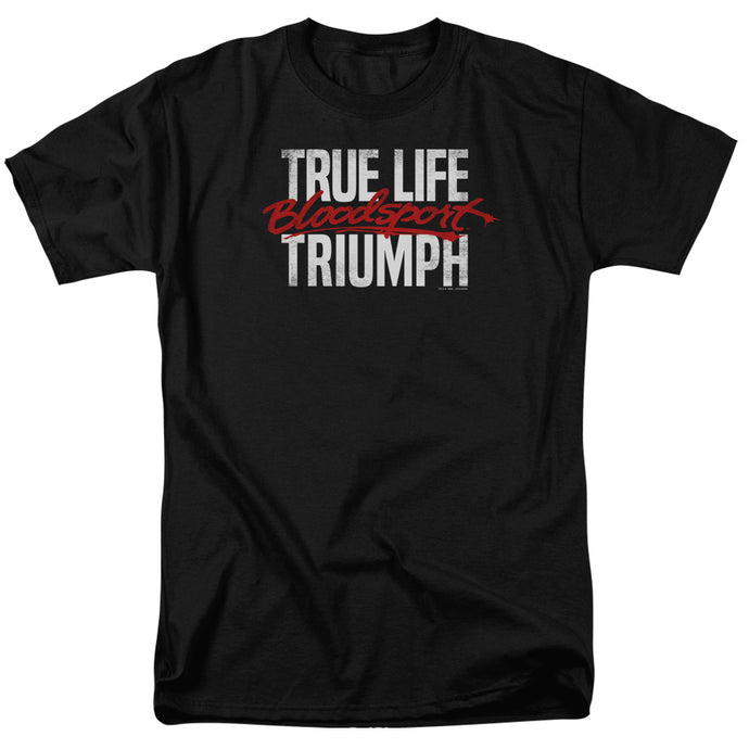 Bloodsport - True Story Short Sleeve Adult 18/1 Tee - Special Holiday Gift