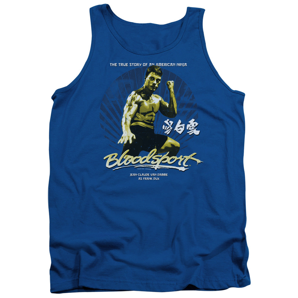 Bloodsport - American Ninja Adult Tank - Special Holiday Gift