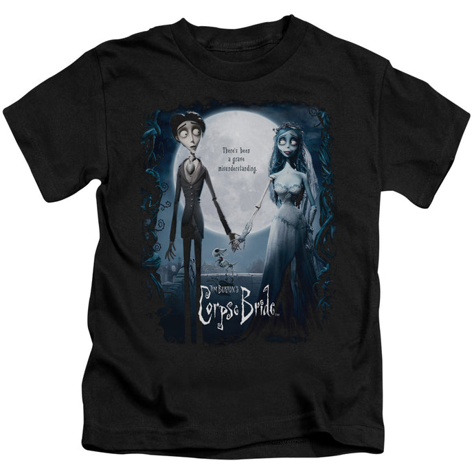 Corpse Bride - Poster Short Sleeve Juvenile 18/1 Tee - Special Holiday Gift