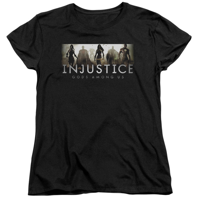 Injustice Gods Among Us - Logo Short Sleeve Women's Tee - Special Holiday Gift