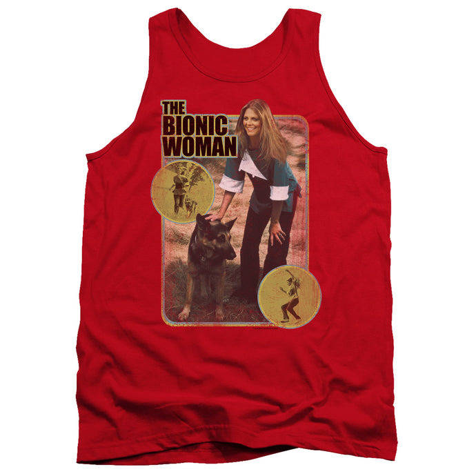 Bionic Woman - Jamie And Max Adult Tank - Special Holiday Gift