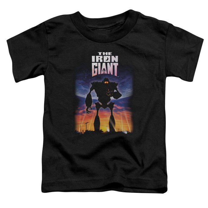 Iron Giant - Poster Short Sleeve Toddler Tee - Special Holiday Gift