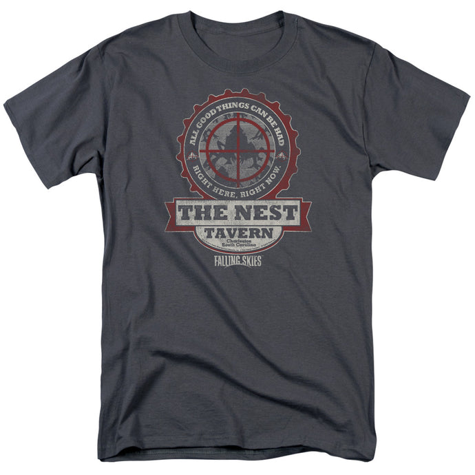 Falling Skies - The Next Short Sleeve Adult 18/1 Tee - Special Holiday Gift