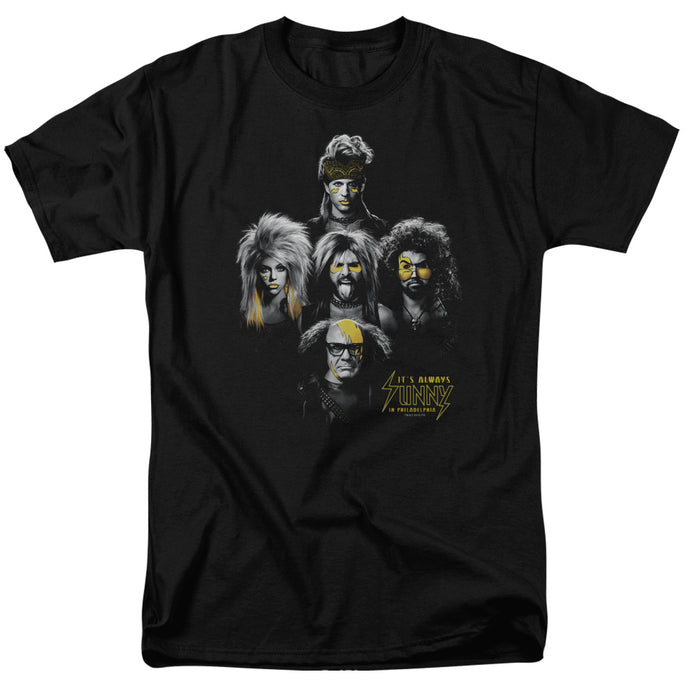 Its Always Sunny In Philadelphia - Rocker Heads Short Sleeve Adult 18/1 Tee - Special Holiday Gift